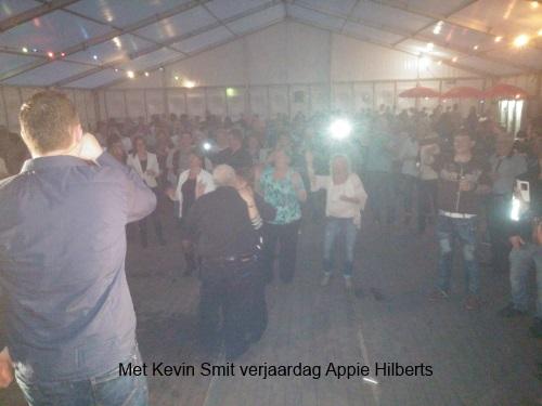 Met Kevin Smit bij Appie Hilberts