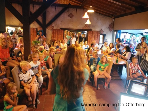 Karaokeshow camping De Otterberg